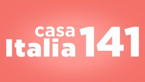 diretta live streaming casa italia 141