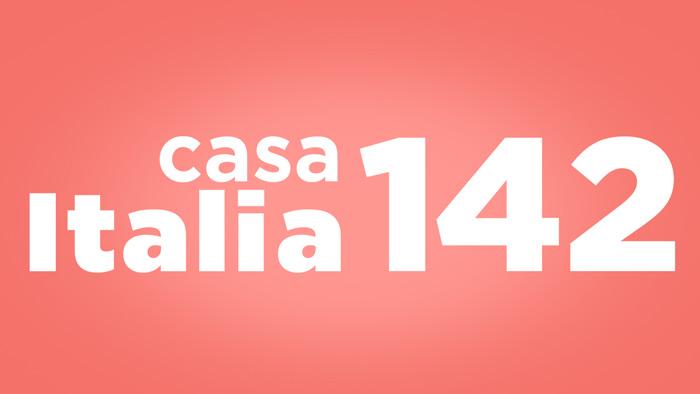 diretta live streaming casa italia 142